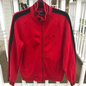 Polo Ralph Lauren Track Warm Up Field Jacket Sz L